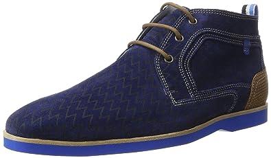 Size41 5 Mens Ankle Boots Floris 1094601 Blue Van Bommel roeCdxB