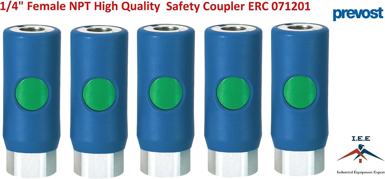 """Prevost ESI 071201 High Flow Safety Air Coupler 1//4/"""" FNPT Prevo S1"""