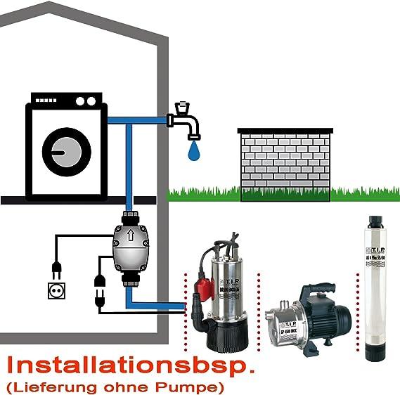 Tip Pumpensteuerung Brio Tauchdruck Tiefbrunnen Zisternen Gartenpumpen Bar Elekt