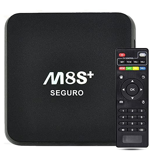2 opinioni per SEGURO M8S+ Smart TV Box Amlogic S812 Android 5.1 OS Quad Core 2G+8G M8S Plus