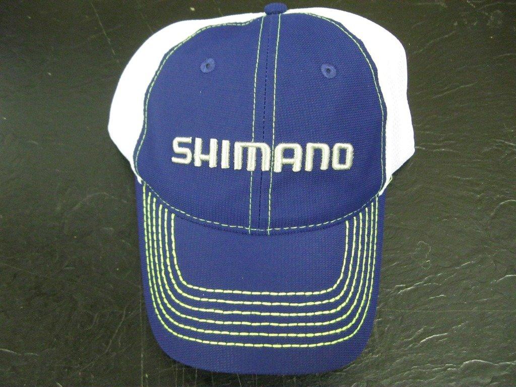 ae52e854c15cf Amazon.com   SHIMANO FISHING LINE CAP NAVY   WHITE   Sports   Outdoors