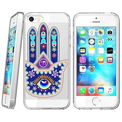 Amazon.com: Suave carcasa de TPU para iPhone 5S, carcasa de ...
