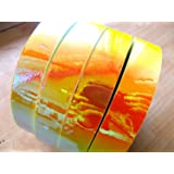 "60 ft. roll of 3/4"" Sun & Fire Metallic Hula Hoop Tape"