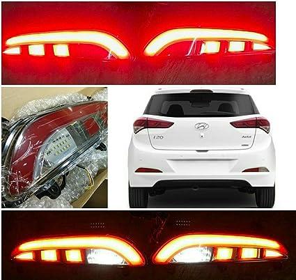 59799f46e287 Autoxygen Back Bumper Rear Reflector DRL_2 For Hyundai I20 Elite ...