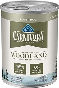 Blue Buffalo Blue Carnivora Woodland Blend Optimal Prey Nutrition Grain Free Adult Wet Dog Food