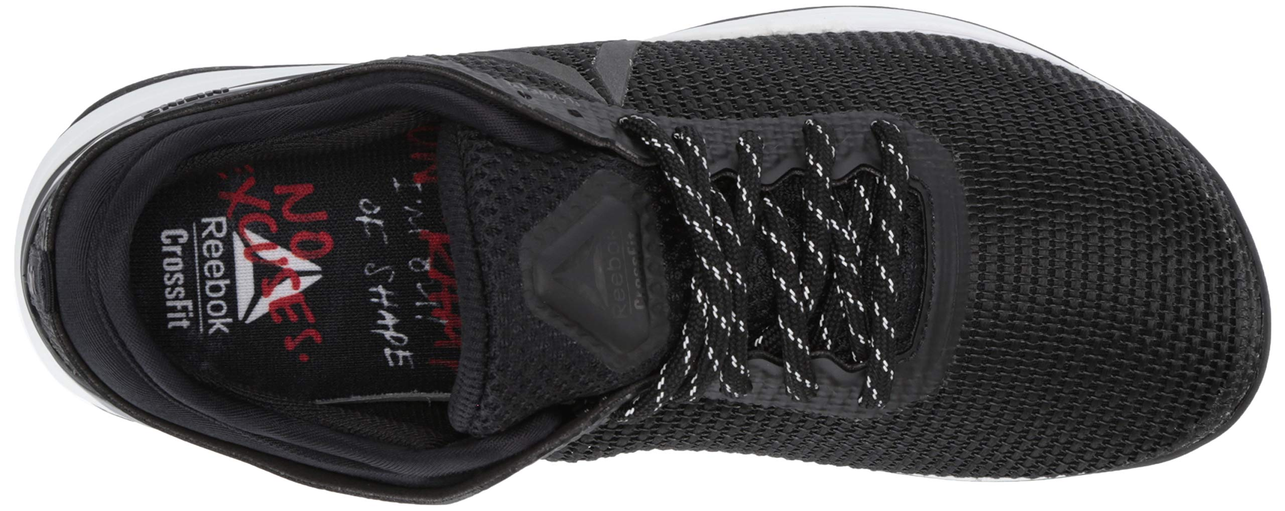 Reebok Women's CROSSFIT Nano 8.0 Flexweave Cross Trainer, Black/White, 5 M US by Reebok (Image #12)