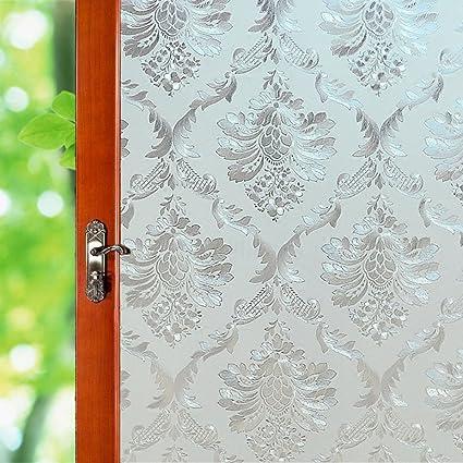Amazoncom Privacy Window Sticker No Adhesive Stained Glass Window