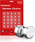 Polaroid Extreme GPA76 LR44 AG13 1.5V Button Cell Alkaline Batteries Hexbug Compatible (25-Pack)
