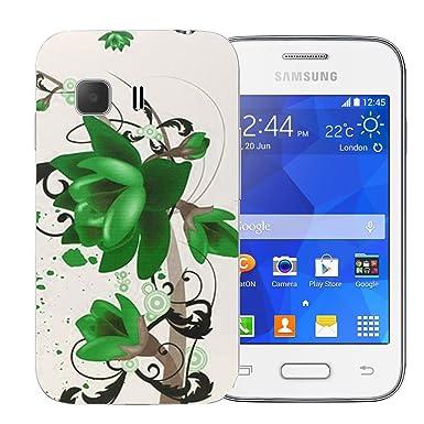 Carcasa rígida verde impreso - Funda para Samsung Galaxy ...
