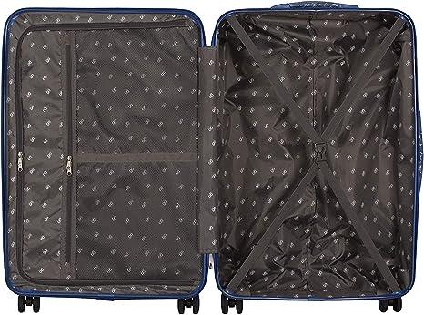 Luggo - Juego de Maletas Capullo (Azul) 8 Ruedas Giratorias - Cerradura TSA - 20% Más Livianas: Amazon.es: Equipaje