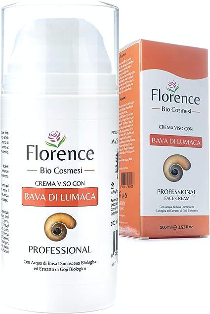 Grande 100ml. Bio Crema de Baba Caracol. Hidratante facial con Ácido Hialurónico y Vitamin C. 20+ Ingredientes Antiedad y Antiarrugas para la cara y ...