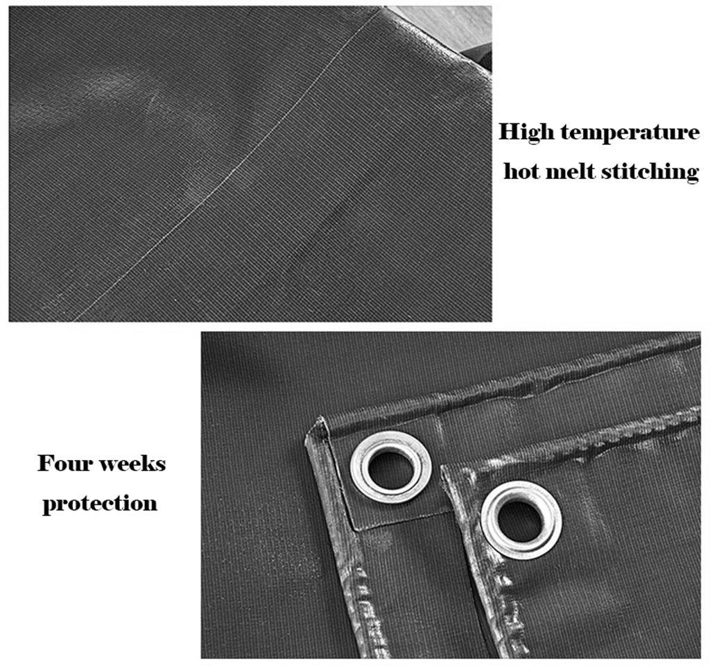 YUJIE Pannello Impermeabile Impermeabile Impermeabile per Telone Impermeabile E Traspirante per Esterno Parasole Multifunzione Campeggio per Giardinaggio Prossoezione Solare - Giallo 520g   M2 Spessore 0,5 Mm, 8 Misure (Blu) B07HJDQLG9 3MX3M | Materiali Selezionati Con Cura  | Lo 028c5b
