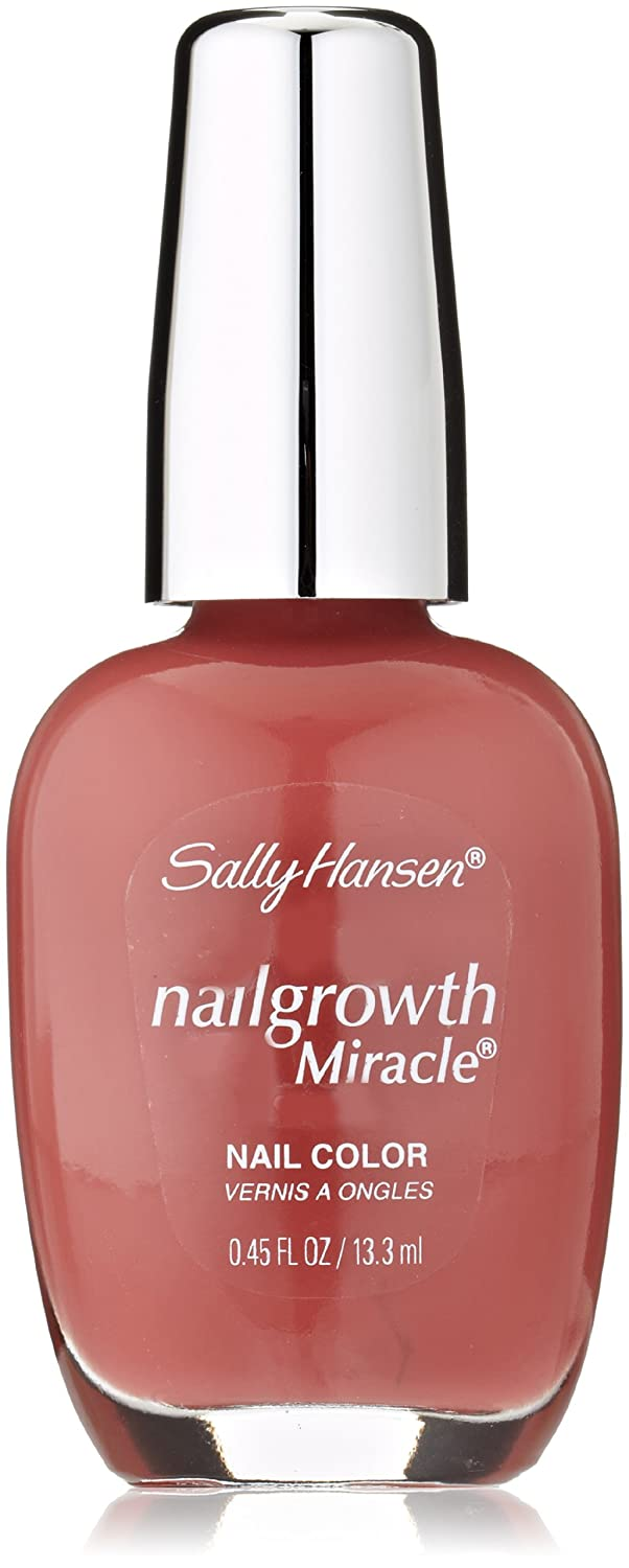 Amazon.com : Sally Hansen Nail Growth Miracle, Radiant Rose, 0.45 ...