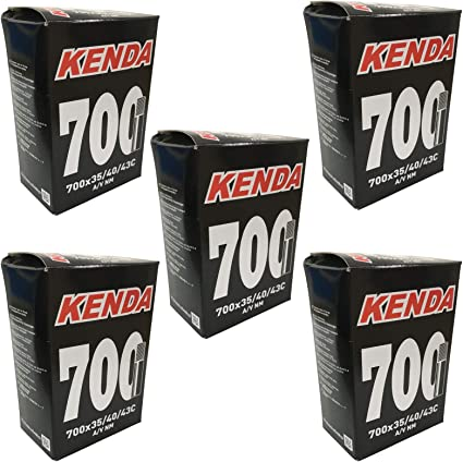 TWIN PACK KENDA INNER TUBES 700X35//43C SCHRADER BICYCLE BIKE MURRAY TIRE LEVERS