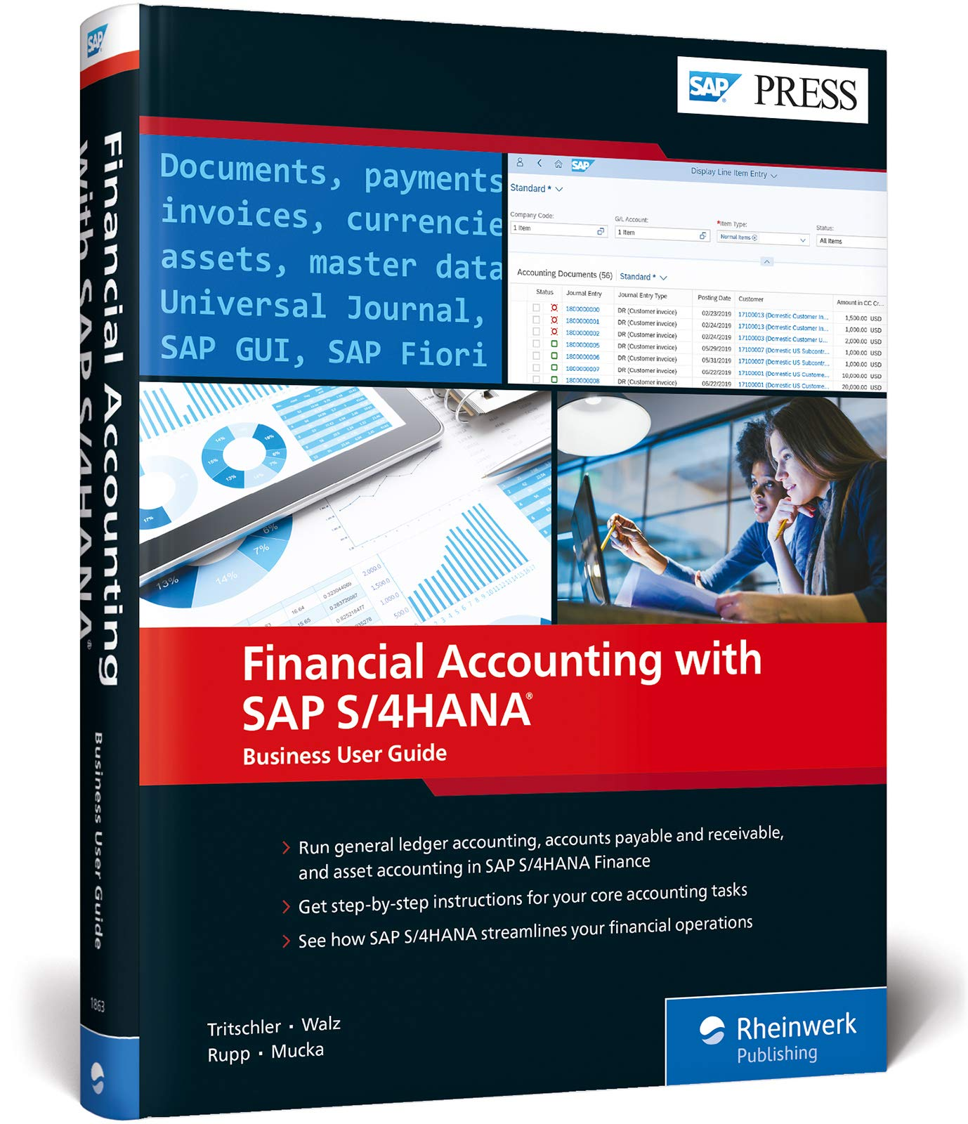 Financial Accounting with SAP S/4HANA: Business User Guide (SAP PRESS)