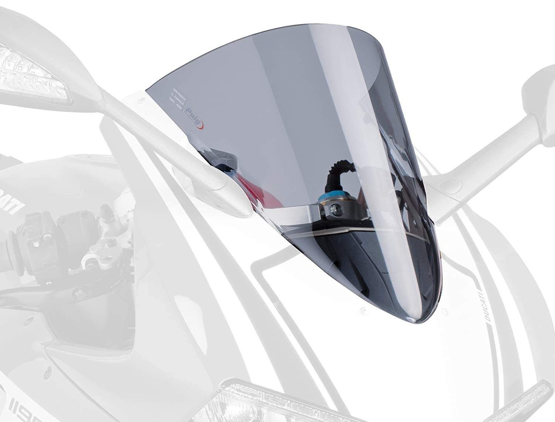 Racingscheibe Puig Ducati 899 Panigale 2014-2015, 1199 Panigale 2012-2015, Superleggera 2014 leicht getö nt 30% Verkleidungsscheibe Puig Screen 5990H