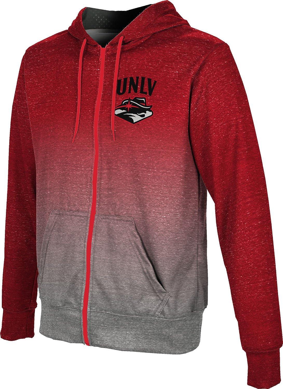 ProSphere University of Nevada Las Vegas Mens Full Zip Hoodie Ombre
