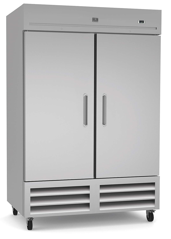 Kelvinator KCHRI54R2DRE Stainless Steel Reach-in Commercial Refrigerator, 2 Door, 49 cu.ft