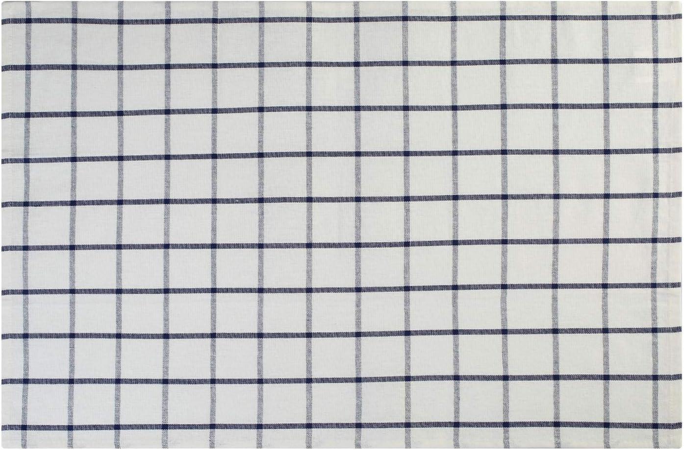 Assorbente e Senza Pelucchi 45 x 65 cm Lifaith Strofinacci da Cucina Classici Lavabili in Lavatrice Confezione da 3 Pezzi in 100/% Cotone Naturale Colore: Bianco a Righe Blu