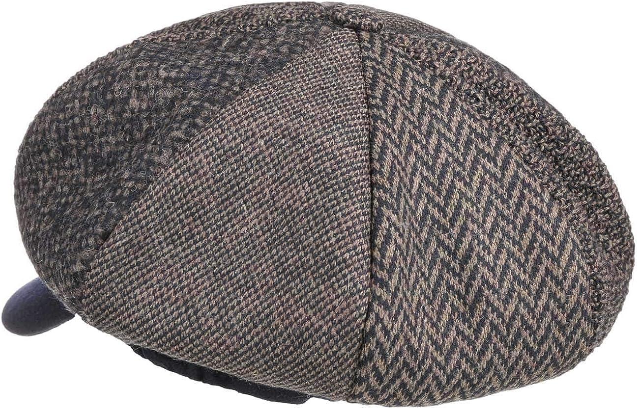 Made in Italy Schirmm/ütze meliert - Handmade Walkm/ütze mit Gummiband 54-59 cm Lierys Talisa Ballonm/ütze Damen Wasserabweisend Herbst//Winter 80/% Wolle One Size
