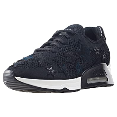 Ash Zapatos Lucky Star Zapatillas Mujer 37 Negro: Amazon.es: Zapatos y complementos