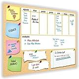 Quadro Planejamento Mensal + 3 Canetas com Suportes Mod05