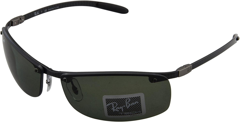 Ray-Ban Gafas de Sol 8305 082/9A Polarized (64 mm) Negro: Amazon.es: Zapatos y complementos