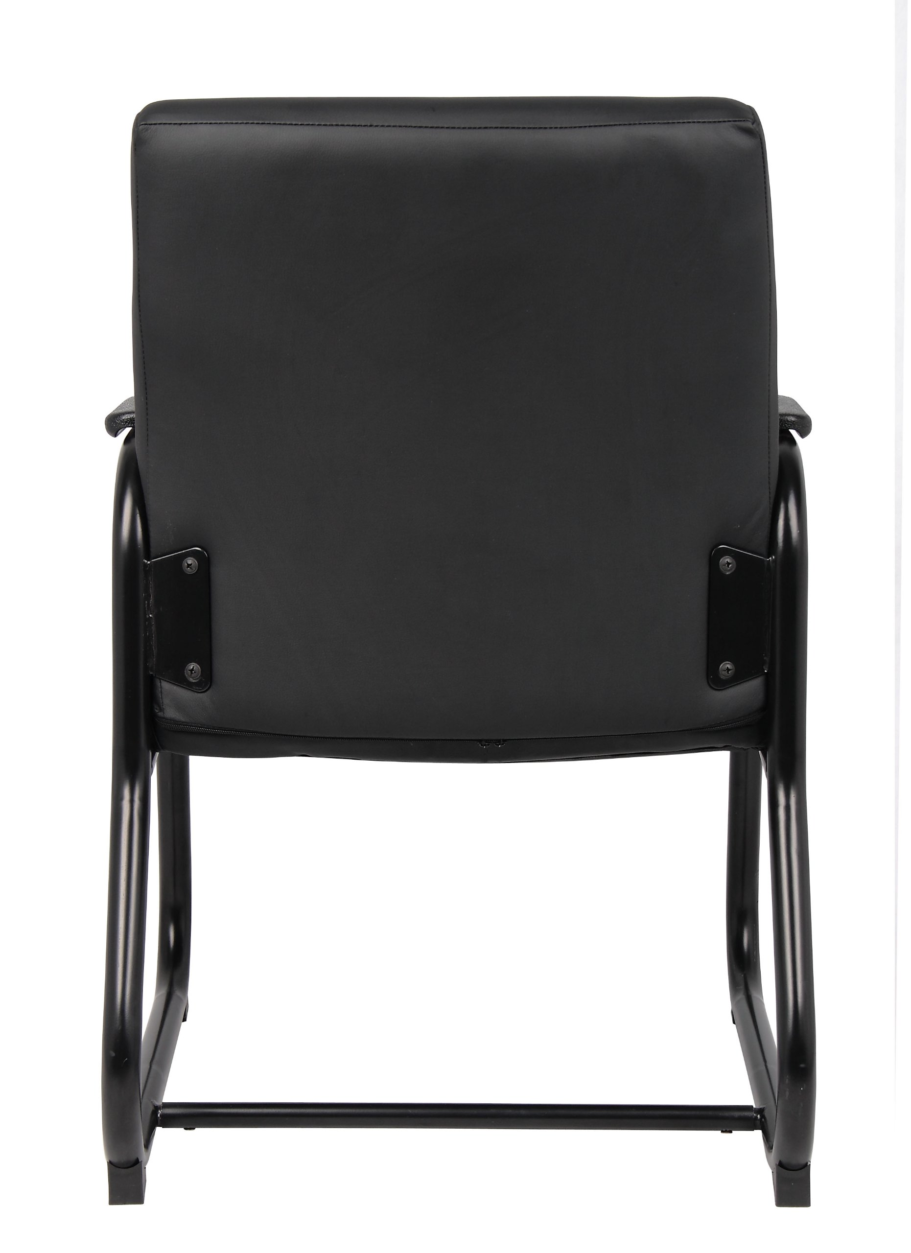 Boss Office Products B709 Heavy Duty Caressoft Guest Chair in Black by Boss Office Products (Image #2)