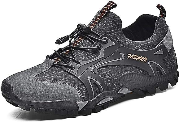 Hombres Senderismo Zapatos Outdoor Impermeable Camping Trekking Escalada Botas de monta/ña Hombres Zapatillas