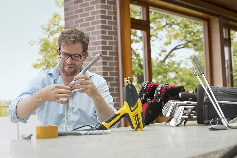 Breitstrahld/üse Luftmenge 820 l//min WAGNER Hei/ßluftpistole FURNO 750 Abstrahl- Farbschaber /& LCD-Anzeige Reflektor- 630/°C,2000 W max Zentrier- ergonomischer Handgriff inkl