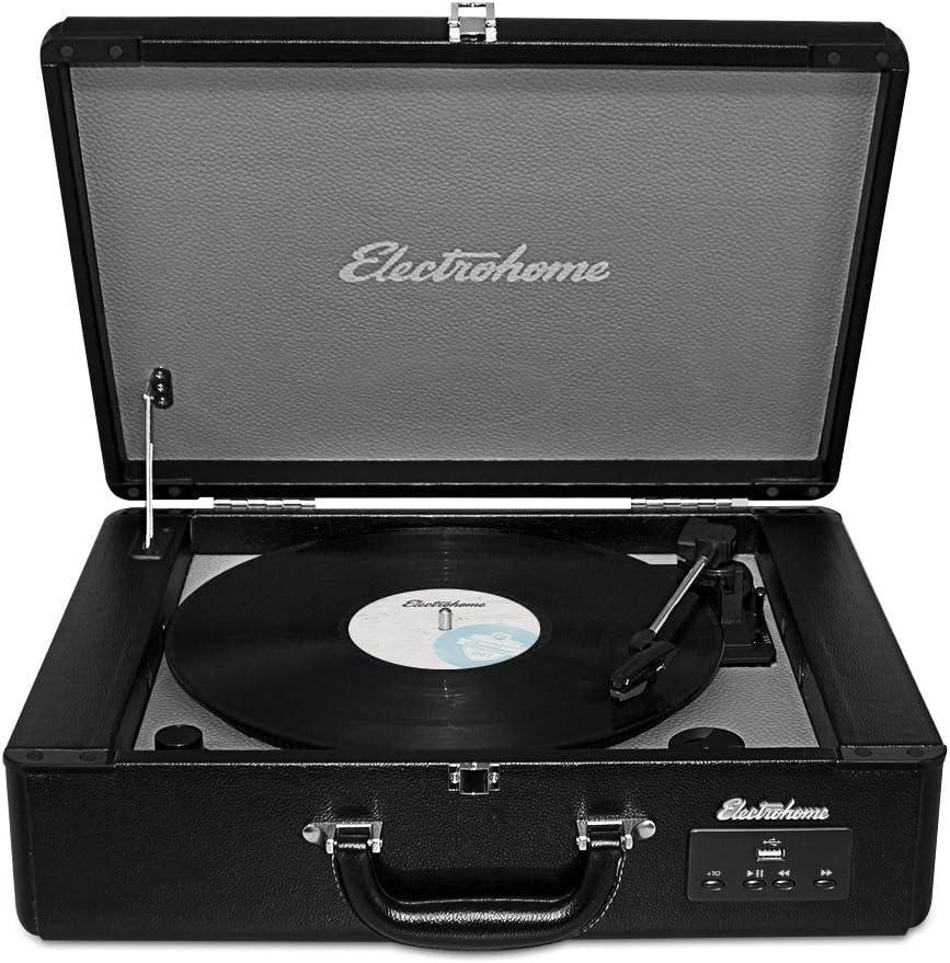 Amazon.com: Electrohome Archer Vinyl Record Player Classic ...