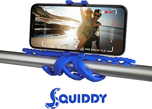 Celly Squiddy tripode Smartphone/Action Camera 6 Pata(s) Azul ...