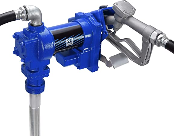 Fuel Transfer Pump 12 Volt Oil Diesel Gas Gasoline Kerosene Car Tractor Truck