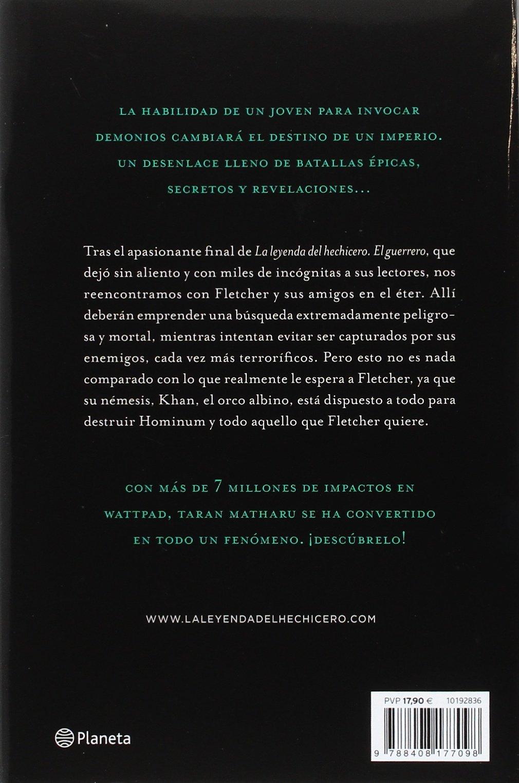 La leyenda del hechicero. El mago: Amazon.co.uk: Taran Matharu, Jesús de la  Torre Olid: 9788408177098: Books