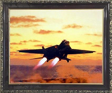 Amazon.com: Aviation Framed Poster - US Navy M F Winter F-14D Tomcat ...