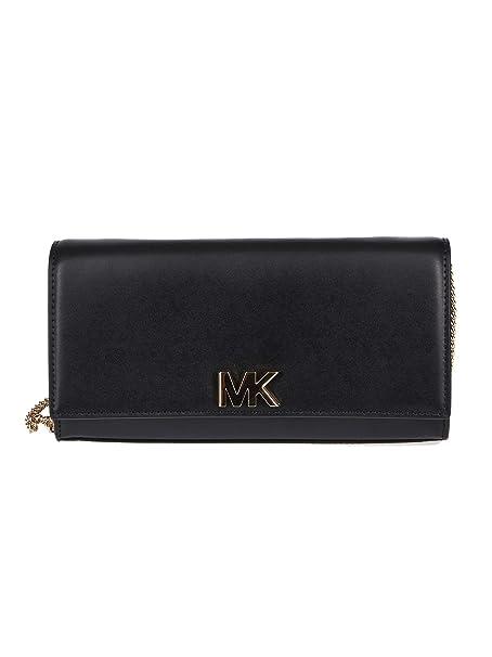 MICHAEL Michael Kors - Cartera de mano para mujer Negro Negro Talla de la Marca Negro Talla Del Vestido Brand Uni: Amazon.es: Ropa y accesorios