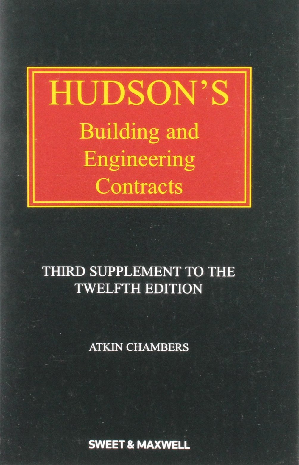 Download Hudson's Building and Engineering Contracts 3rd Supplement PDF Text fb2 book