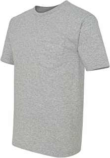 product image for Bayside - USA-Made Short Sleeve T-Shirt With a Pocket - 5070