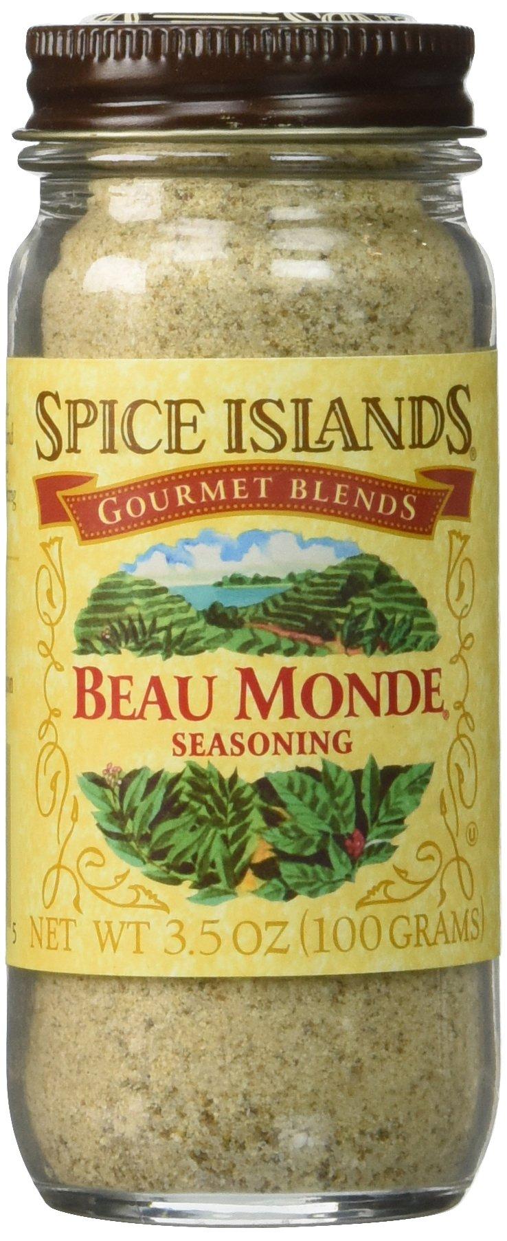 Spice Island Beau Monde Seasoning, 3.5 oz, 2 pk