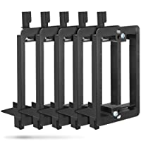 Wall Plate Mounting Bracket, Fosmon [5 Pack] 1-Gang Low Voltage Wall Plate Mounting Bracket for Cables and Wires