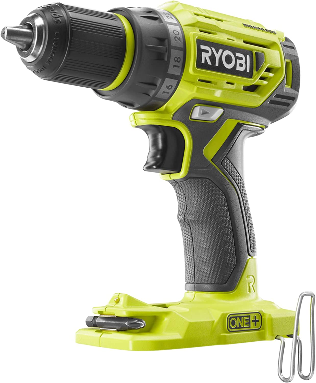 Ryobi R18DD7-0 Drill Driver Hyper Green 18 V