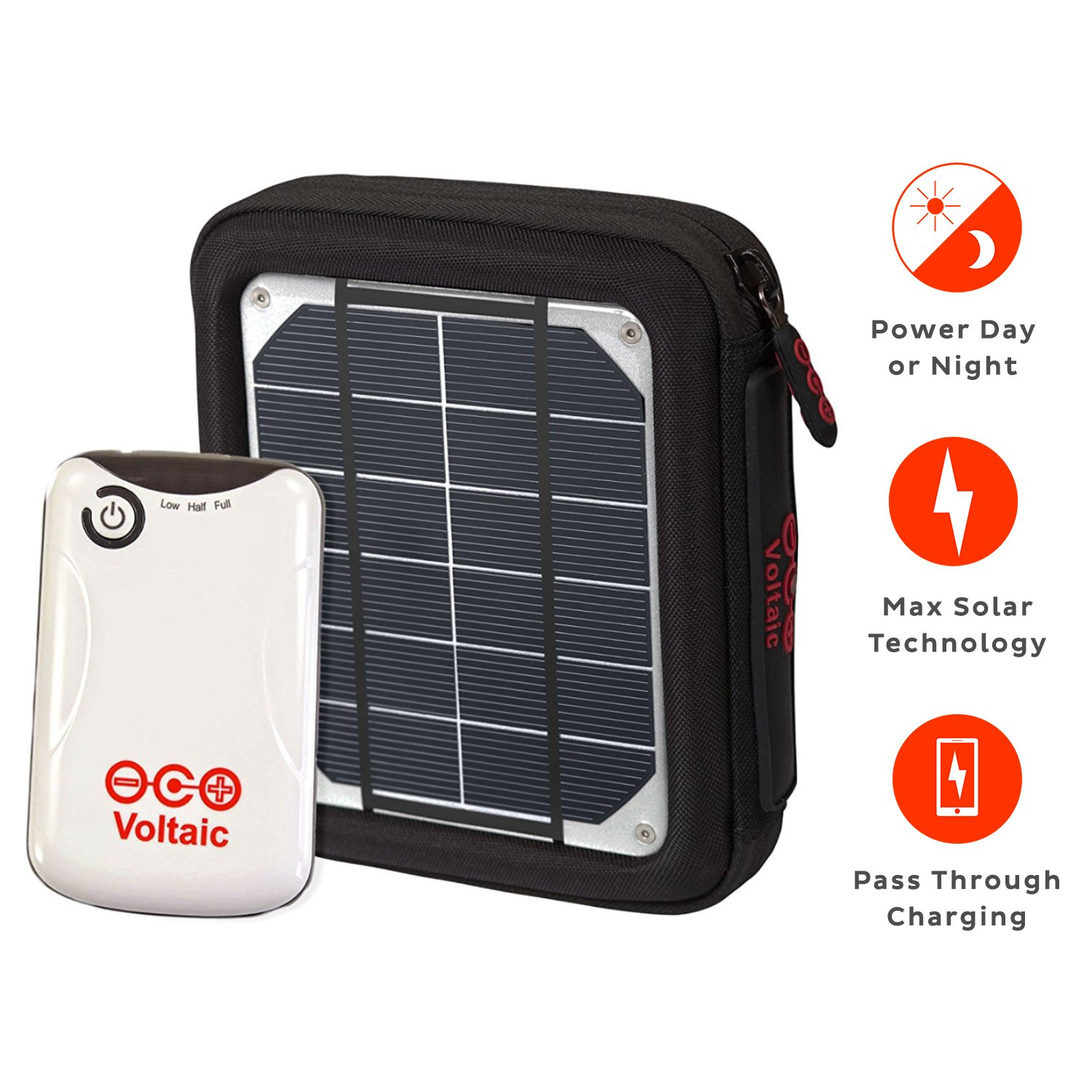 Voltaic Systems Amp Portable Rapid Solar Charger With Jpg 1500x1500 Solar  Powered Space Heater