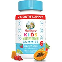 Kids Vitamins by MaryRuth's, Vegan Multivitamin Gummies with Organic Ingredients, Immune Support for Kids with…