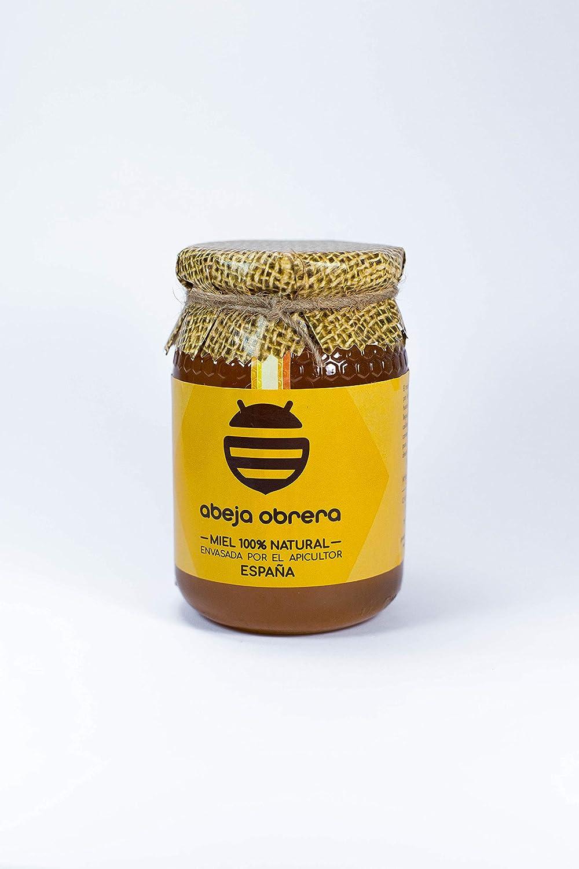 miel mil flores ESPAÑA 100% natural (ABEJA OBRERA). ENSAVADA POR EL APICULTOR: Amazon.es: Alimentación y bebidas