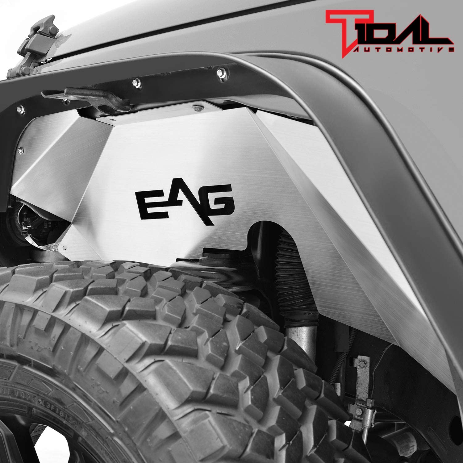 Tidal Compatible with Front Fender Flares with 07-18 Wrangler JK