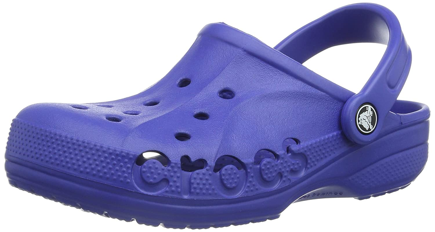 crocs Baya Mule, Cerulean Blue, 15 B(M) US Women/13 D(M) US Men