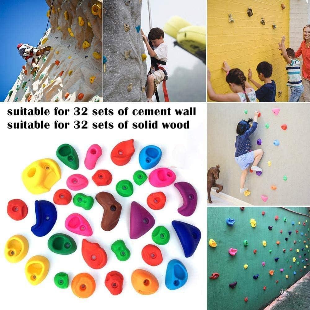 Ytrew Niños Escalada Roca Sujeta Piedras Escalada Colores Con ...