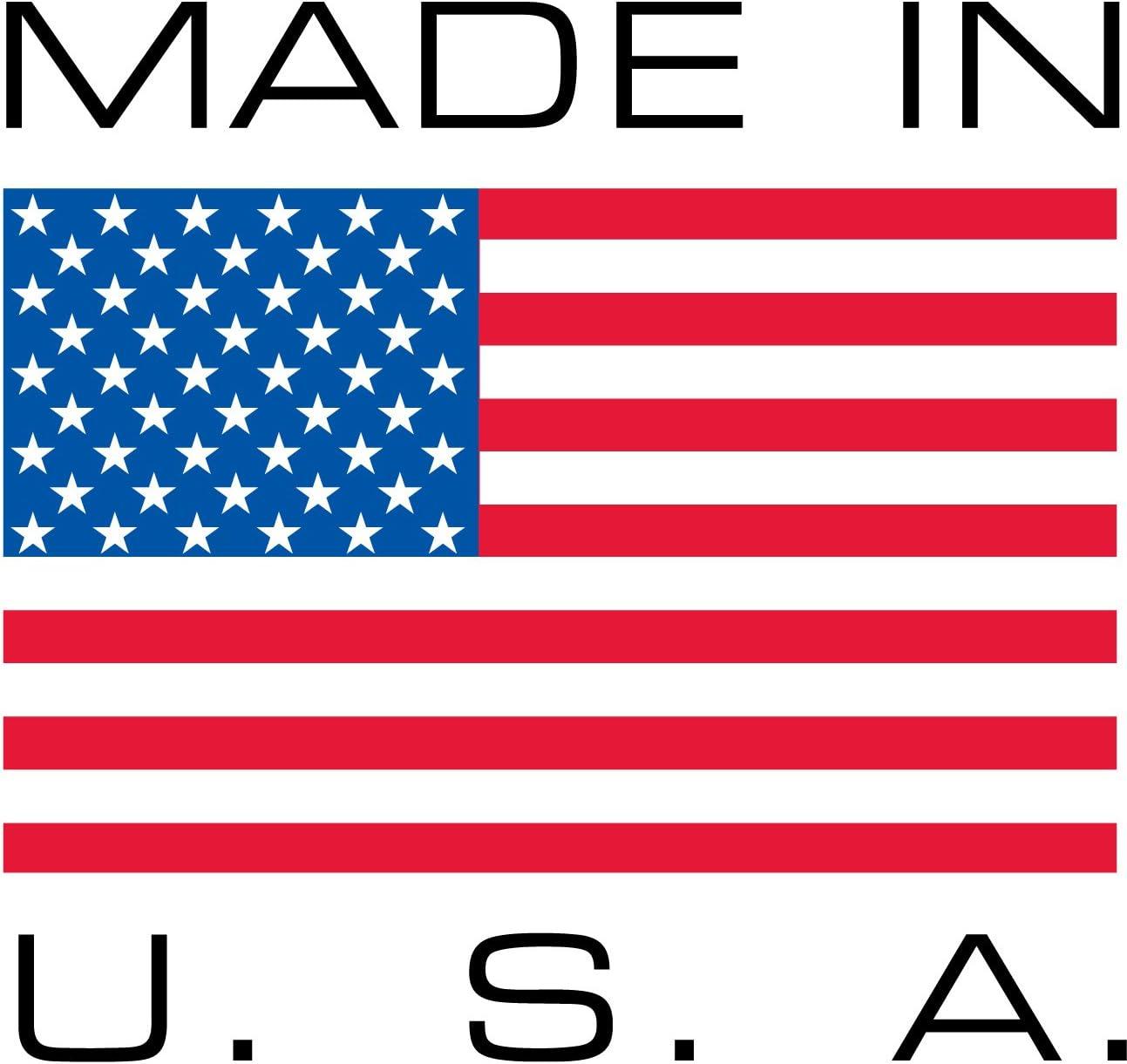 electr/ónica fabricadas en Estados Unidos Almohadillas de goma para parachoques de color negro 20 pcs cuadradas y altas muebles patas de goma para altavoces electrodom/ésticos equipos de audio