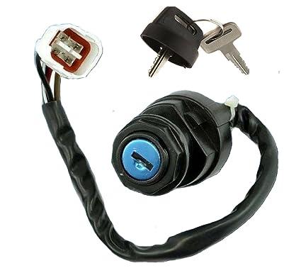 amazon com: ignition key switch yamaha warrior yfm350 yfm 350 1996 1997  1998 1999 2000 2001: automotive