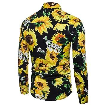 Hombre blusa tops moda fashion 2018, ❤ Sonnena Hombre Otoño Invierno Casual Patchwork manga